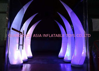 Chiny Party Stage Decoration Inflatable Cone with LED Lighting fabryka