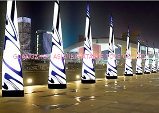 Chiny LED Light Inflatable Standing Cone,Lighting Decoration Inflatables fabryka