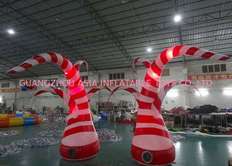 Chiny Beauty Inflatable Tentacle With Led Lighting For Party / Stage / Room Decoration fabryka