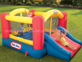 3ml Inflatable Amusement Park With Mini Bouncer For Adult And Children