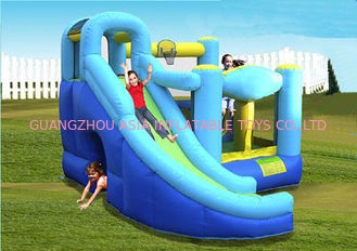 Baby Inflatable Amusement Park With Mini Bouncer With Four Cones