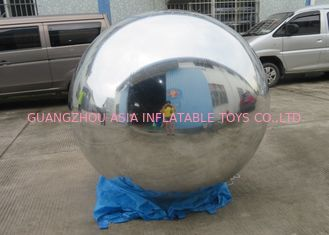 Attractive Inflatable Mirror Ball Helium Balloon And Blimps Advertising