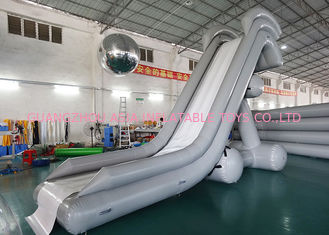Chiny 0.90mm PVC Water Slide, Inflatable Water Sports For Water Park fabryka