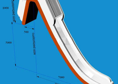 Chiny Giant Inflatable Water Slide , Inflatable Water Amusement Equipment, Yacht Slide fabryka