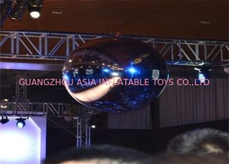 Chiny Advertising Mirror Helium Balloon And Silver Mirror Ball Inflatable For Party fabryka