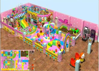 Chiny Kids Indoor Soft Blow Up Playground With Candy Theme 3 lata gwarancji fabryka