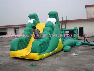 Chiny Aqua Floating Water Sports, Inflatable Crocodile Water Obstacle Course fabryka