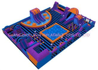 Water-Proof Family Inflatable Amusement Park / Commercial Indoor Playground