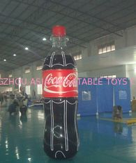 Chiny Giant Inflatable Coca Cola Bottle for Advertising / Display fabryka
