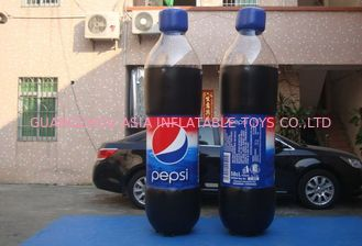 Chiny Replicate PVC Inflatable Bottles Pepsi Cola Bottle For Trade Show fabryka