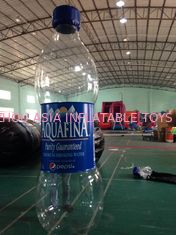 Chiny Commercial  Inflatable Advertising Water Bottle For Business Rental fabryka
