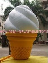 Chiny Custom Inflatable Ice Cream Model  for Outdoor Advertising fabryka