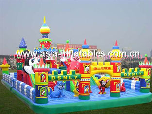 Hot Selling Inflatable Funcity, Inflatable Fun City For Kids Trampoline Park Games