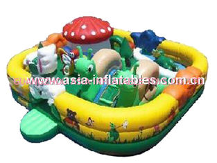 Giant Inflatable Fun Land For Outdoor Children Park Games