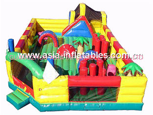 Kids Entertainment Park Games, Inflatable Funcity For Sale