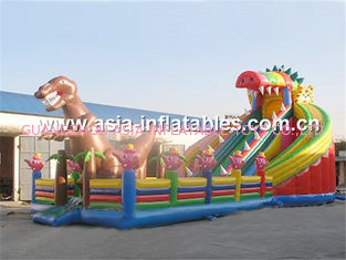 China Inflatable Fun City / Inflatable Entertainment Park Games