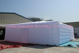 Huge tent for garden party events wedding colorful lighting Square bubble tents