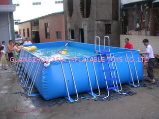 Chiny Lovely New Design Huge Commercial PVC Adults and Kids Inflatable Pool with Various Colours fabryka