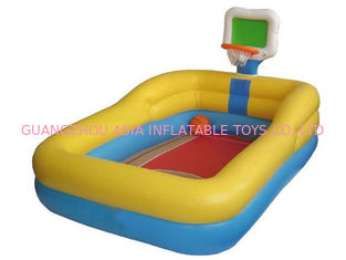 Chiny Hotsale Kids Inflatable Pool Center with Basketball Hoop fabryka