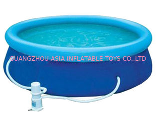 Chiny Blue Colour Kids Inflatable Pool Center with Water Filters fabryka