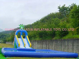 Chiny 2014 Commercial Inflatable Water Park Kids Inflatable Pool with Slide for Outdoor Using fabryka