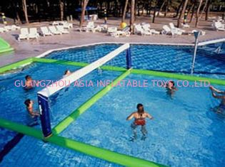 Chiny Inflatable Water Volleyball Field For Swimming Pool Sports Games fabryka
