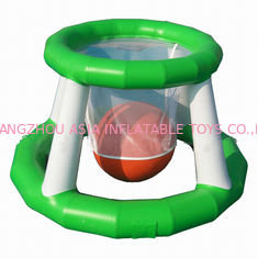 Chiny Aqua Park Inflatable Water Basketball Shot Games For Adults fabryka