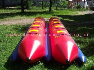 Chiny Inflatable Dual Tube Banana Boat, Inflatable Tube Boat For Water Sports fabryka