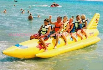 Chiny Inflatable Towable Water Sports, Inflatable Single Tube Banana Boat fabryka