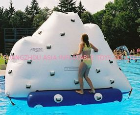 Chiny 3m Height Inflatable Water Sports , Inflatable Climbing Wall With Water Slide fabryka