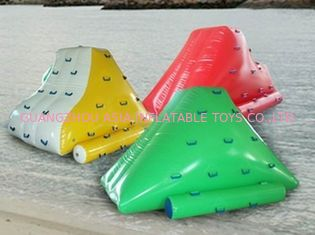 Chiny Colorful Water Floating Iceberg , Inflatable Water Sports for Amusement fabryka