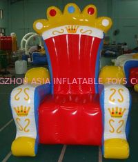 Chiny Ce Certificated Inflatable King Chair Sofa Furniture For Rental fabryka