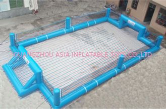 Chiny Portable Large Inflatable Soccer Pitch For Commercial Use , Inflatable Soccer Field fabryka