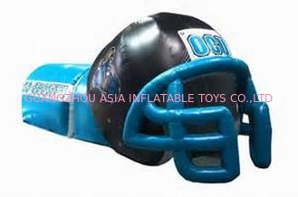 Chiny NFL Helmet Tunnel, Inflatable Entrance For Nfl Games fabryka