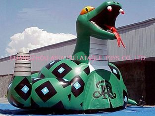 Chiny Inflatable Poison Snake Design Tunnel For Outdoor Business Promotion fabryka