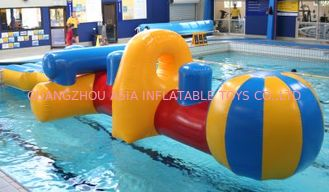 Chiny Inflatable Water Floating Airflow, Inflatable Swimming Pool Games fabryka