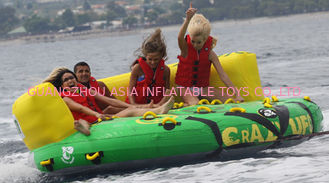 Chiny Outdoor Inflatable Water Park Sports, Inflatable Towable Water Sofa fabryka
