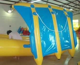 Chiny Exciting Inflatable Flying Fish Boat for Entertainment , Easy To Set Up fabryka