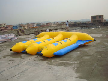 Chiny Hot Air Welded Inflatable Flying Fish Boat for 6 Passengers fabryka