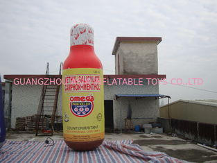 Chiny Custum Inflatable Bottles / Can For Promptional fabryka
