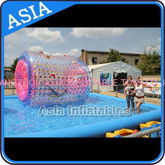 Chiny Colourful Inflatable Water Walking Roller for outside activity , fabryka