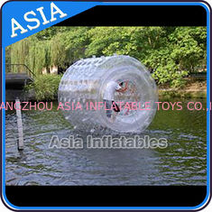 Chiny Large Floating Wheel Inflatable Water Walking Roller Ball For Sale fabryka