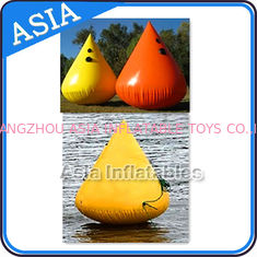 Chiny Inflatable Paintball Bunker Inflatable Buoys 0.90mm PVC Tarpaulin fabryka