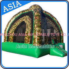 Chiny Outdoor Inflatable Marine Camo Bongo Bouncer For Children Party Games fabryka
