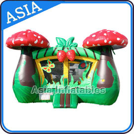Chiny Inflatable Strawberry Bouncer And Slide Combo Games For Children fabryka