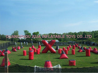 Chiny Inflatable Paintball Bunker for paintball Field Equipment fabryka