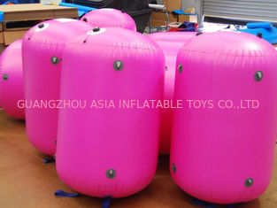 Chiny 0.9mm PVC Tarpaulin customed inflatable paintball bunker fabryka