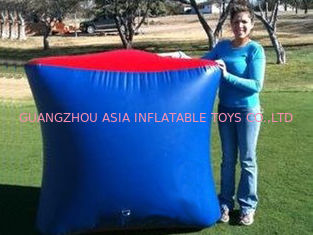 Chiny Inflatable Paintball Bunker BUN26 with Flexible and Durable Anchor Strings fabryka