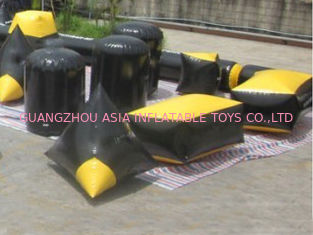 Chiny Soft and Safe Blindage Inflatable Paintball Bunker BUN24 for Paintball Sports fabryka