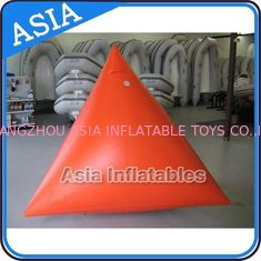 Chiny Orange Color Commercial Use  Inflatable Buoy For Water Park Paintball Bunker fabryka